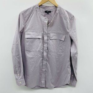 GAP Factory Small Long Sleeve Button Down Top 579